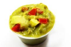 Abacate do Guacamole, lados mexicanos do alimento Foto de Stock Royalty Free