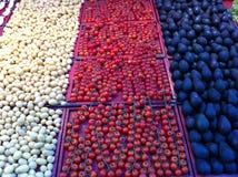 Abacate do tomate da batata Imagens de Stock Royalty Free