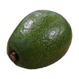 Abacate maduro verde isolado imagem de stock royalty free