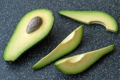Abacate orgânico fresco foto de stock