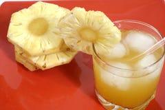 Abacaxi do suco foto de stock