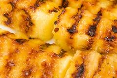 Abacaxi grelhado fotos de stock