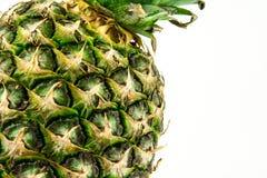 Abacaxi isolado no fundo branco Fruto do verão Imagem de Stock
