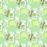 Abacaxi pattern54 Foto de Stock Royalty Free