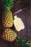 abacaxis Foto de Stock