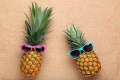 Abacaxis maduros Fotografia de Stock