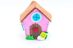 Aback home. Home sweet home, the concept of home, created in fel Royalty Free Stock Photography