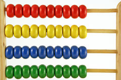 Abacus at 0 Royalty Free Stock Photo