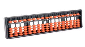 Abacus. The photo of abacus on white Royalty Free Stock Images