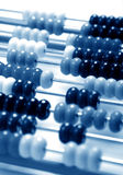 Abacus. A abacus in a blue tone Stock Image