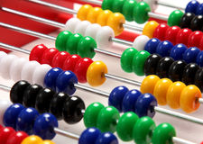 Abacus. A abacus on a white background Royalty Free Stock Photography
