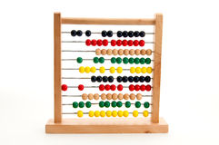 Abacus. Image of a colorful abacus used to learn mathematics Stock Photo