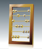 Abacus. Vector decorative illustration for graphic design Royalty Free Stock Photos