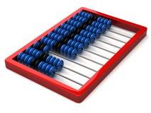 Abacus. Illustration of abacus, isolated on white background Royalty Free Stock Photos