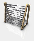 Abacus. 3d rendering of an abacus Stock Photo
