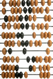 Abacus. Old abacus on a white background Stock Photo