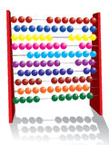 Abacus. Vector illustration on an abacus Stock Photography