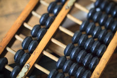 Abacus. Close up of a Chinese abacus Royalty Free Stock Photo