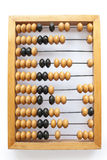 Abacus. Accounting abacus for financial calculations Royalty Free Stock Photography