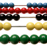 Abacus. When it's time to learn to count royalty free stock images