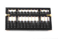 Abacus. A close up photo of chinese abacus stock photo