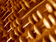 Abacus closeup Royalty Free Stock Photos