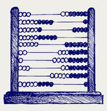 Abacus. Doodle style. Vector sketch Stock Photo