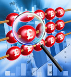 Abacus. A red abacus financial illustration Stock Photo