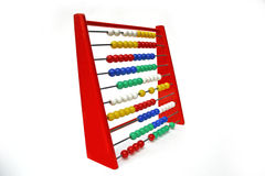 Abacus. Calculator Stock Images