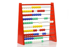 Abacus. Childrens abacus on bright background Royalty Free Stock Photography