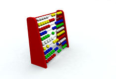 Abacus. Illustration of an Abacus stock photos