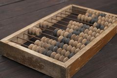 Abacus - antique device Royalty Free Stock Images