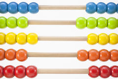 Abacus Beads Horizontal Royalty Free Stock Image