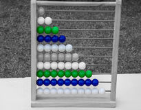 Abacus of beads Royalty Free Stock Image