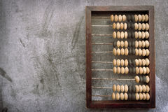 Abacus on board Royalty Free Stock Photography