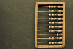 Abacus on board Royalty Free Stock Photo