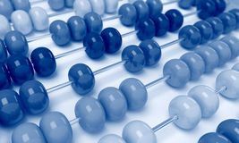 Abacus business view Royalty Free Stock Images