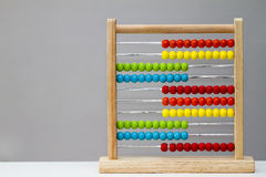 Abacus calculator Stock Image