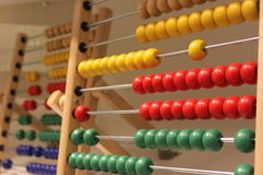 Children abacus Stock Images