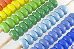 Abacus for children 3. Colorful abacus for children Stock Photo