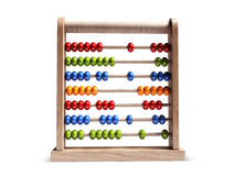 Abacus  with Clipping Path. Abacus  on white background with Clipping Path Royalty Free Stock Photography