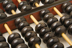 Abacus close up Stock Photography