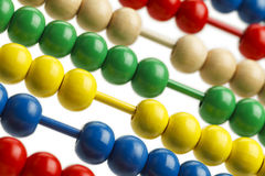 Abacus Close Up Royalty Free Stock Photo