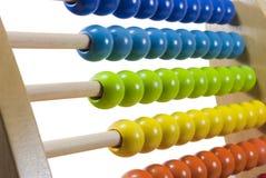 Abacus Closeup Stock Image