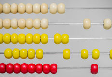 Abacus closeup Stock Photography