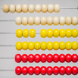 Abacus closeup Royalty Free Stock Images