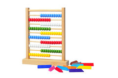 Abacus and colorful pastel colors Royalty Free Stock Photos