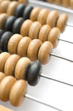 Abacus counting beads Stock Photos