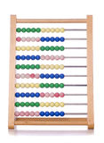 Abacus cut out Royalty Free Stock Photography