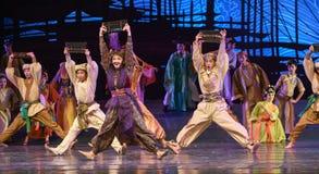 "Abacus dance-Dance drama ""The Dream of Maritime Silk Road"" Royalty Free Stock Photo"